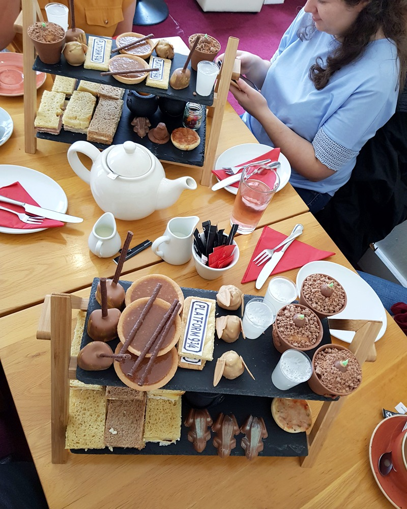 Harry Potter Afternoon Tea At The Chocolate Deli In